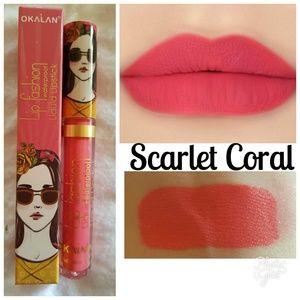 Lip Fasion Matte Gloss Scarlet Coral